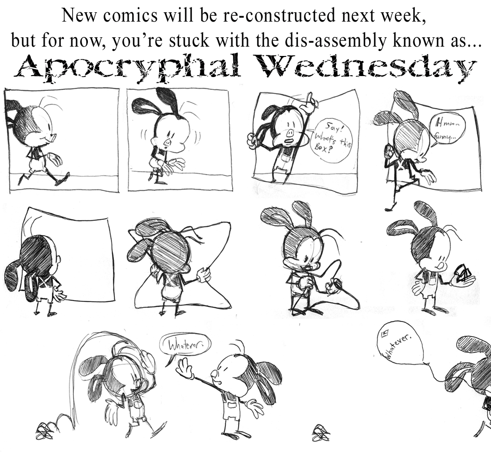 Apochryphal Wednesdays #14